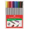 """Faber-Castell Rostirón készlet, 0,4 mm, FABER-CASTELL """"Grip"""", 10 különbözõ szín"""