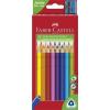 """Faber-Castell Színes ceruza készlet, háromszögletű, FABER-CASTELL """"Jumbo"""", 20 különböző szín"""