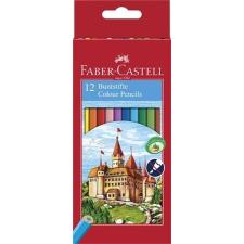 """Faber-Castell Színes ceruza készlet, hatszögletű, FABER-CASTELL """"Classic"""", 12 különböző szín színes ceruza"""