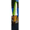 Fagyi-250 cm-CSAVAROS fagylalt/fehér-zöld
