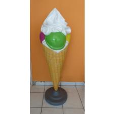 Fagyi-Gombócos fagylalt habbal-215 cm dekorációs kellék