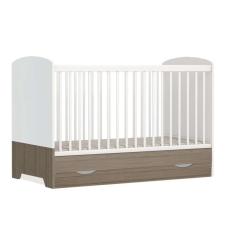 Faktum Poppi átalakítható Kiságy ágyneműtartóval, rágásvédővel 70x140cm #fehér kiságy, babaágy