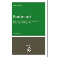 Familienrecht – Rolf Schmidt idegen nyelvű könyv