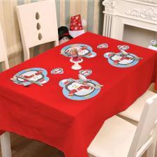 Family Tányér- és poháralátét - pingvin - 8 db / csomag karácsonyi dekoráció