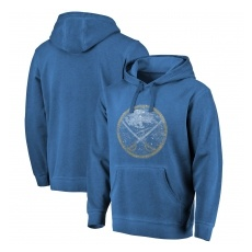 Fanatics Branded Buffalo Sabres fĂŠrfi kapucnis pulóver blue Shadow Washed Logo - L