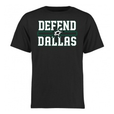 Fanatics Branded Dallas Stars fĂŠrfi póló black Hometown Defend - XL