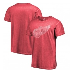 Fanatics Branded Detroit Red Wings fĂŠrfi póló red Fanatics Branded Shadow Washed Logo - XL