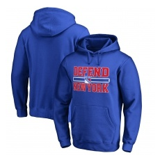Fanatics Branded New York Rangers fĂŠrfi kapucnis pulóver blue Hometown Collection Defend - M