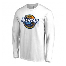 Fanatics Branded NHL fĂŠrfi hosszú ujjú póló white 2018 NHL All-Star Long Sleeve Logo - L