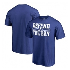 Fanatics Branded Tampa Bay Lightning fĂŠrfi póló blue Hometown Defend - XL