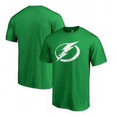 Fanatics Branded Tampa Bay Lightning fĂŠrfi póló green St. Patrick´s Day White Logo - L