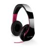 FANTEC Fejhallgató SHP-250AJ headset fekete/rózsaszín (EMP-227333)
