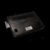 FARMO Patkányláda, fekete, kulcsos, falhoz rögzíthető (22x18x9,5 cm)