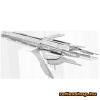 Fascinations Metal Earth Mass Effect Turian Cruiser