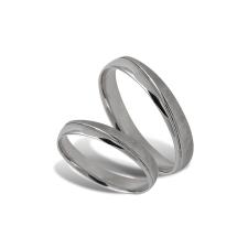 Fehér arany női karikagyűrű - A40420F/58 gyűrű