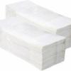 Fehér,egyrétegű kéztörlő papír
