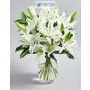 Fehér liliom virágcsokor