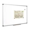 Fehértábla, mágneses, 120x240 cm, alumínium keret