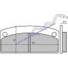 Fékbetét MICROCAR GRECAV EKE 505 RMS 0540