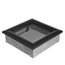 Fekete Szellőzőrács Oscar 17x17 hűtés, fűtés szerelvény