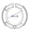 Fékpofa YP MAJESTY 250ccm 96-98 RMS 0460