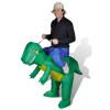 Felfújható dinoszaurusz jelmez