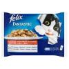Felix Fantastic teljes értékű állateledel felnőtt macskák számára marhahússal és csirkével 4 x 100 g