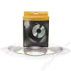 FELLOWES CD/DVD boríték, műanyag, átlátszó, FELLOWES (IFW98312)