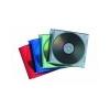 FELLOWES CD-tok, vékony, 1 lemez, FELLOWES, átlátszó