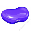 FELLOWES Csuklótámasz, mini, géltöltésű, FELLOWES Crystals™ Gel, lila (IFW91477)