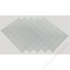 FELLOWES Előlap, A4, 240 mikron, FELLOWES, víztiszta (IFW53762)