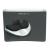 FELLOWES Health-V™ Easy Palm Glide egéralátét géltöltésű csuklótámasszal, fekete