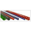 FELLOWES Műanyag spirál 19 mm 121-150 lap -fekete- FELLOWES, 100 db/dob