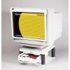 FELLOWES Premium Plus monitorállvány fiókkal, platinaszürke