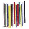 FELLOWES Spirál, mûanyag, 12 mm, 56-80 lap, FELLOWES, 100 db, fekete
