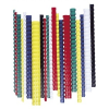 FELLOWES Spirál, műanyag, 10 mm, 41-55 lap, FELLOWES, piros
