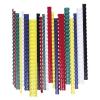 FELLOWES Spirál, műanyag, 12 mm, 56-80 lap, FELLOWES, piros