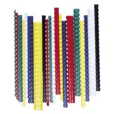 FELLOWES Spirál, műanyag, 16 mm, 101-120 lap, , 100 db, fekete spirálozó gép