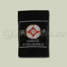 Felvarró, Kyo Kanku, övre, hímzett, műszál boksz és harcművészeti eszköz