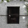 Fém postaláda fekete