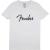Fender Fender Spaghetti Logo T White S