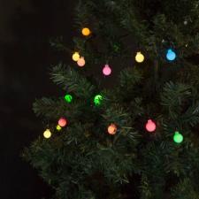 Fényfüzér - LED gömb karácsonyi dekoráció