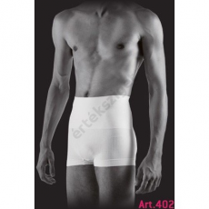 Férfi alakformáló boxer, Farmacell 402, fehér, M