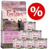 Feringa Kitten próbaszett: Purizon 400 g & Feringa 6 x 200 g - Szett 1: csirke & borjú