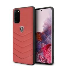 Ferrari tok FEHQUHCS62RE S20 G980 piros Heritage telefontok tok és táska