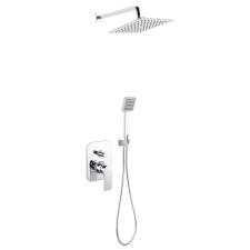 Ferro Algeo szett - falsík alá építhető zuhanyszett kád, zuhanykabin