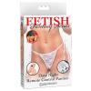 Fetish Fantasy Series  Date Night Remote Control Panties White