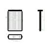 Fiat Doblo 2001.01.01-2005.09.30 Fűtőradiátor (Denso rendszerű ) (0L6E)