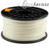 Filament PLA tekercs, 3mm, Fehér (1kg)