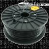 Filament PLA tekercs, 3mm, Fekete (1kg)